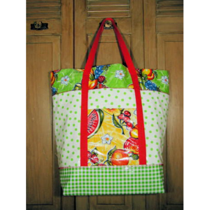 Oilcloth Carry-All