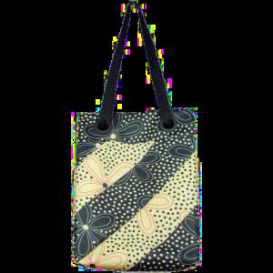 Oilcloth Twist Bag