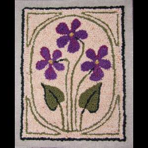 Violets Wool Rug