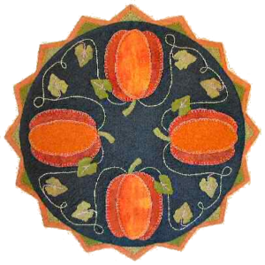 Pumpkin Patch Table Topper